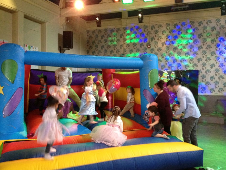 waterfall party derby childrens parties